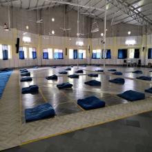 Inside the meditation hall 2